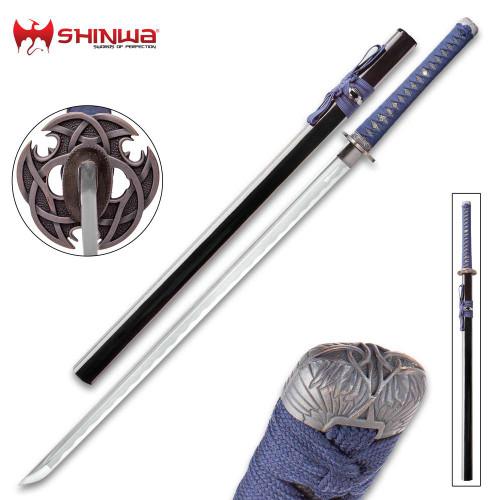 Shinwa Blue Knight Handmade Katana / Samurai Sword