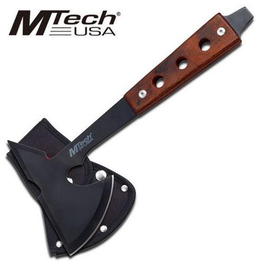 """MTech 601PKA Pakkawood Axe 10.75"""" Hole Punch"""