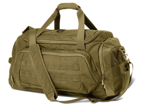"""Cannae """"The Transport"""" Duffle Bag - Coyote"""