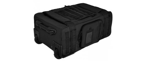 Hazard 4 Air Support Rugged Rolling Carry-On Luggage (Color: Black)