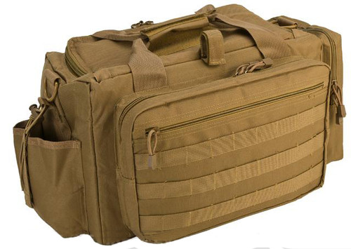 NcSTAR Shooter's Competition Range Bag - Tan