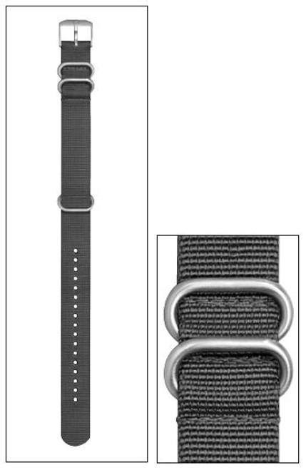 Luminox FN.L.3900.80.2 Strap Nato Style Nylon Grey - 22mm