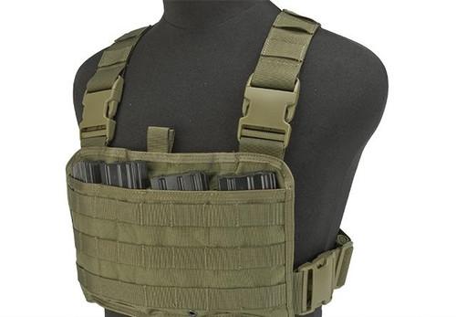 TMC Tactical Recon LowPro Chest Rig - Khaki