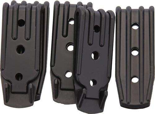 Plastic Belt Clip 3 Hole 5 Pk