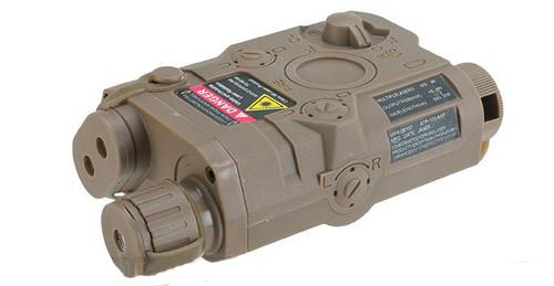Matrix PEQ-15 Weaver / Picatinny Mount Battery Housing Box (Color: Dark Earth)