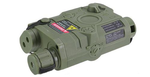 Matrix PEQ-15 Weaver / Picatinny Mount Battery Housing Box (Color: OD Green)