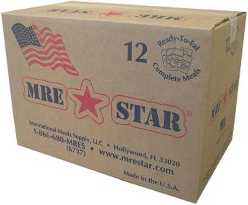Meals Ready to Eat - MRE Star - Case/12