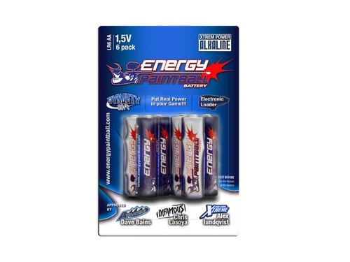 Energy AA Alkaline Battery - 6-Pack