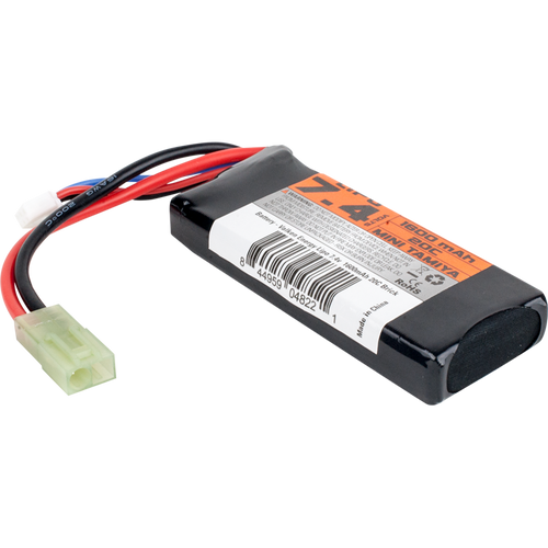 Valken Energy Li-Po Battery 7.4v 1600mAh 20C Mini Brick