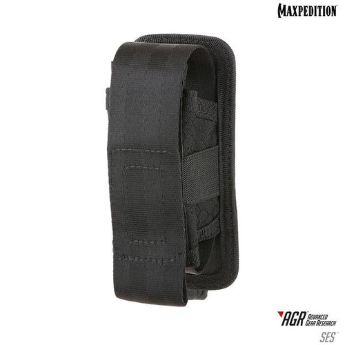 Maxpedition AGR SES Single Sheath Pouch - Black