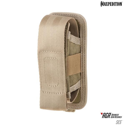 Maxpedition AGR SES Single Sheath Pouch - Tan
