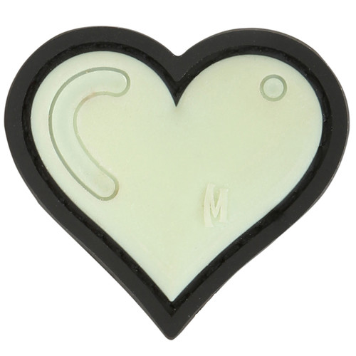 Maxpedition PVC Moral Patch - Heart Glow