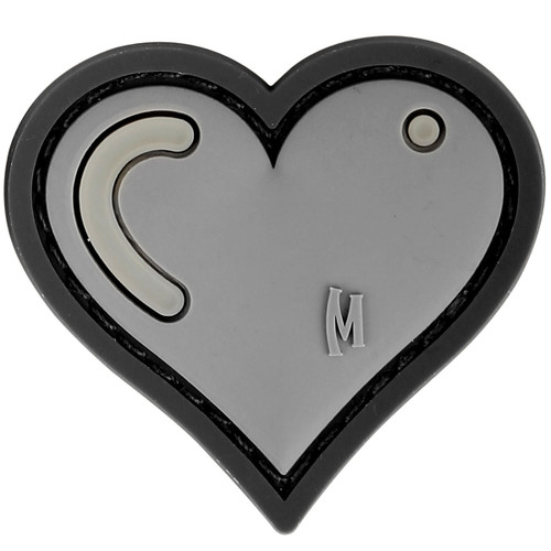 Maxpedition PVC Moral Patch - Heart Swat
