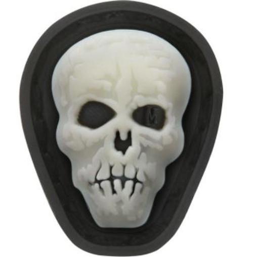 Maxpedition PVC Moral Patch - Hi Relief Skull [Mini] Glow