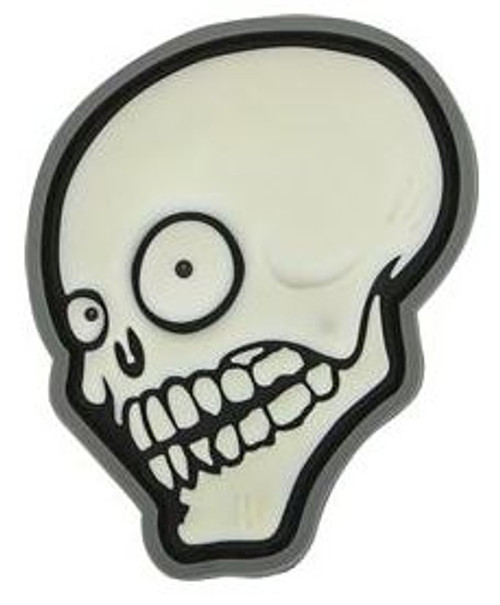 Maxpedition PVC Moral Patch - Look Skull Glow