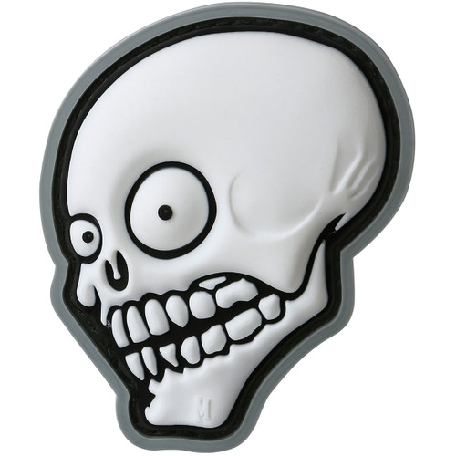 Maxpedition PVC Moral Patch - Look Skull Swat