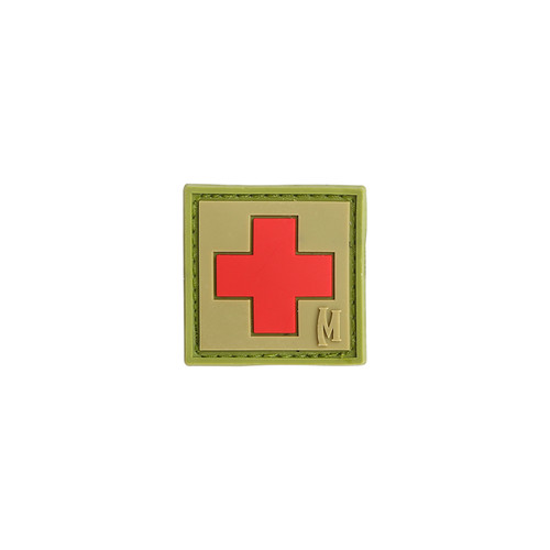 """Maxpedition PVC Morale Patch - 1"""" Medic Arid"""