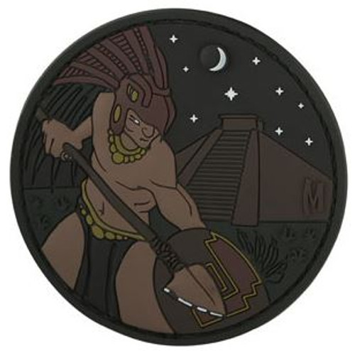 Maxpedition PVC Morale Patch - Aztec Warrior Stealth