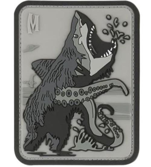 Maxpedition PVC Morale Patch - Bearsharktopus Swat