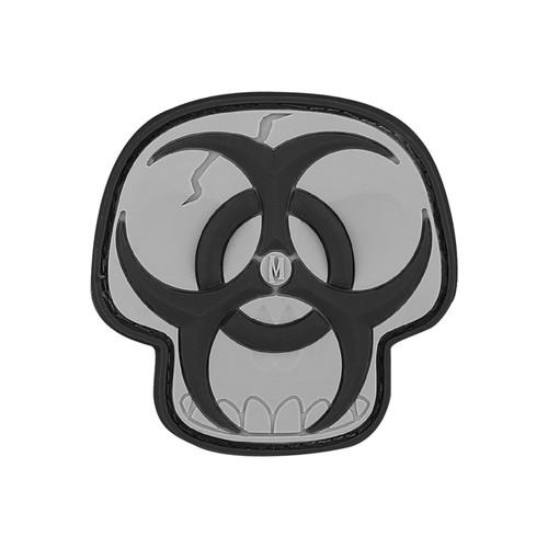 Maxpedition PVC Morale Patch - Biohazard Skull Swat