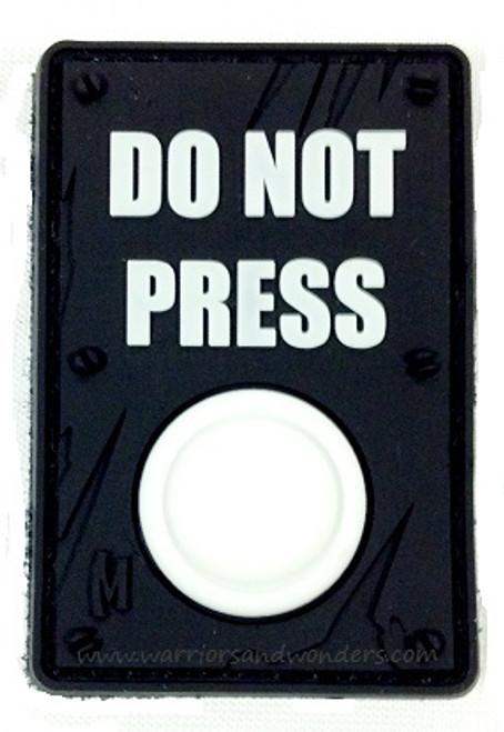 Maxpedition PVC Morale Patch - Do Not Press (Glow)