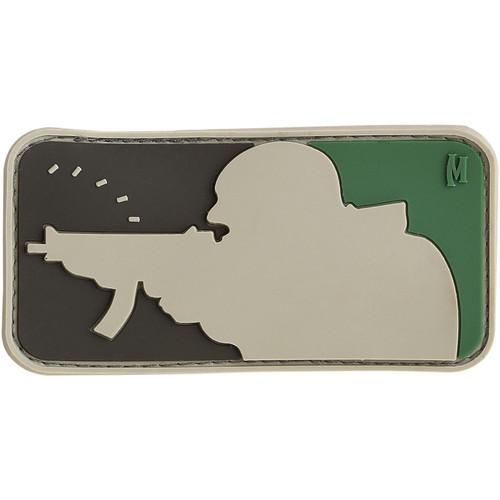 Maxpedition PVC Morale Patch - Major League Shooter Arid