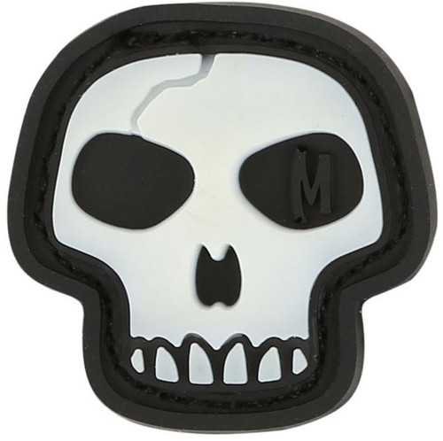 Maxpedition PVC Morale Patch - Mini Skull Glow