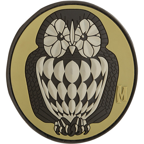 Maxpedition PVC Morale Patch - Owl Arid