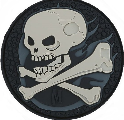 Maxpedition PVC Morale Patch - Skull Swat