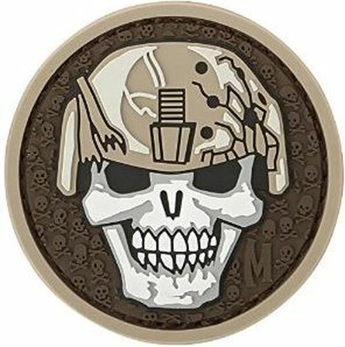 Maxpedition PVC Morale Patch - Soldier Skull ARID