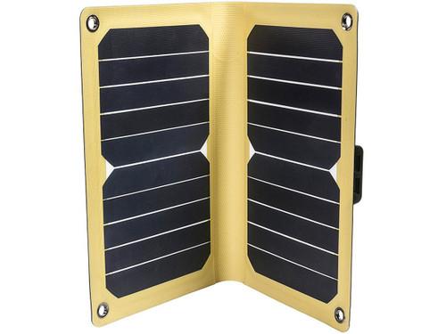 12 Survivors Lightweight Portable Solar Panel (Model: SolarFlare 11)