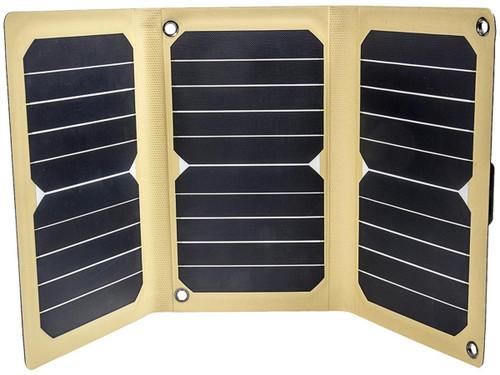 12 Survivors Lightweight Portable Solar Panel (Model: SolarFlare 16)