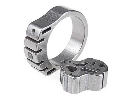 MecArmy SKF2T Dual-Tritium Titanium alloy ring (Size: 20mm)