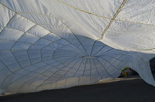 Canadian Armed Forces  24' Personal Survival Parachute - WHITE