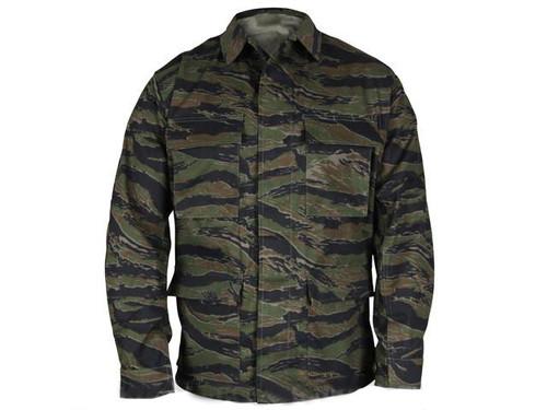 Genuine Gear™ by PROPPER™ BDU Coat - Tiger Stripe (Size: Large)