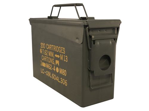 U.S. Armed Forces .30 Caliber Ammo Can