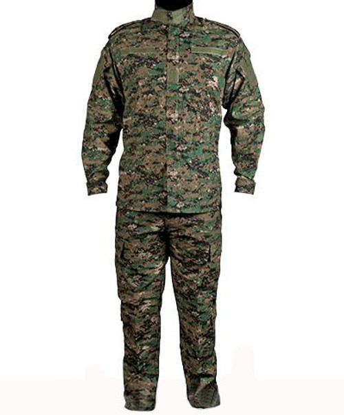Matrix USMC Style Digital Woodland Battle Uniform Set (Size: Medium)