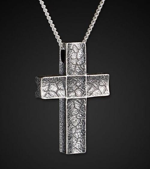 William Henry P31 Unum Sterling Silver Cross Pendant