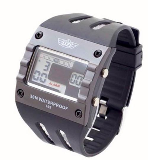 UZI Digital Sport Watch 799 with Rubber Strap