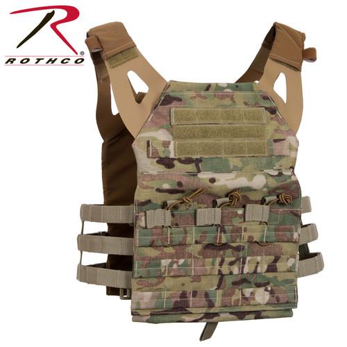 Rothco Lightweight Plate Carrier Vest - Multicam
