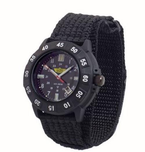 UZI Protector Quartz Watch 001N with Nylon Strap