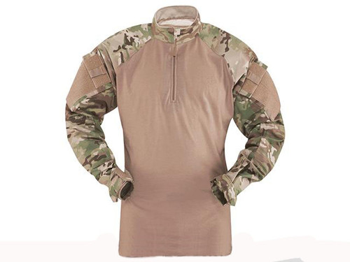 Tru-Spec Tactical Response Uniform 1/4 Zip Combat Shirt - Multicam (Size: Small)