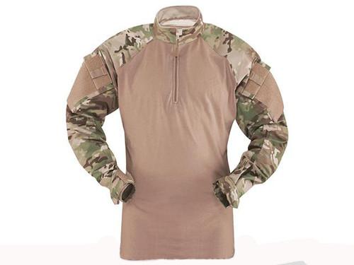 Tru-Spec Tactical Response Uniform 1/4 Zip Combat Shirt - Multicam (Size: Medium)