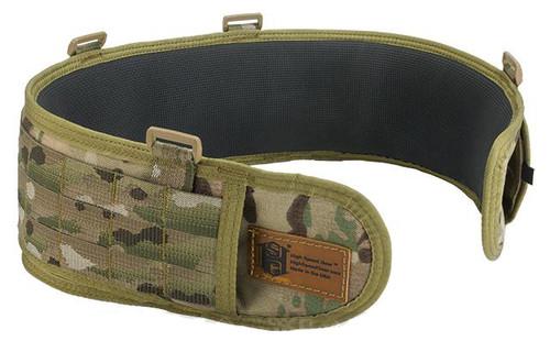 "HSGI SureGrip Padded Military Belt - Multicam / 35.5"""
