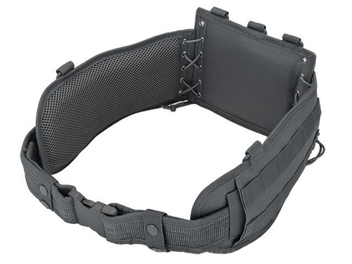 NcSTAR Battle Belt w/ Integrated Pistol Belt Set - Urban Gray