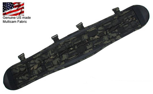 TMC VC Slim Battle Belt - Multicam Black (Size: Large)