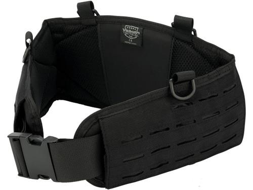 Valken Laser Cut Battle Belt (Color: Black / Medium)