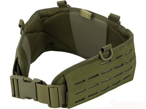 Valken Laser Cut Battle Belt (Color: OD Green / Medium)