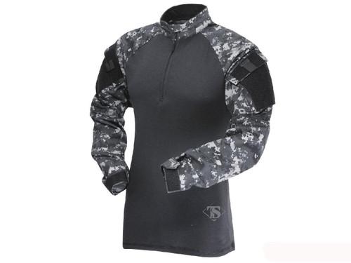 Tru-Spec Tactical Response Uniform 1/4 Zip Combat Shirt - Urban Digital (Size: Small)