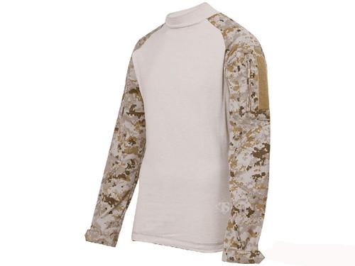 Tru-Spec Tactical Response Uniform Combat Shirt - Digital Desert (Size: Small)